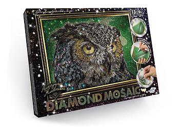 DIAMOND MOSAIC   Алмазная мозаика Сова 200*300 мм