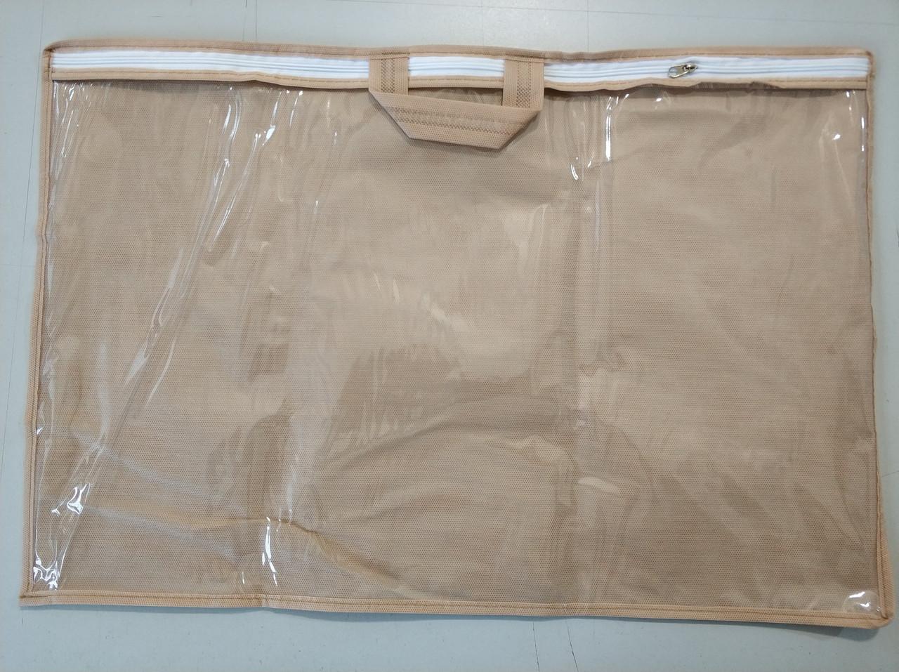 Упаковка для домашнего текстиля, подушки 40х60 см ПВХ 90