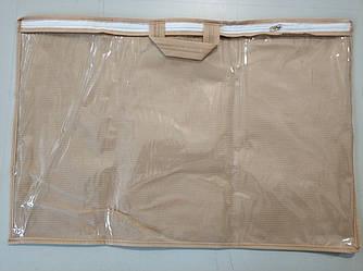 Упаковка для домашнего текстиля, подушки 40х60 см ПВХ 90 Бежевый