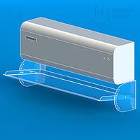Экран-отражатель для кондиционера с регулировкой