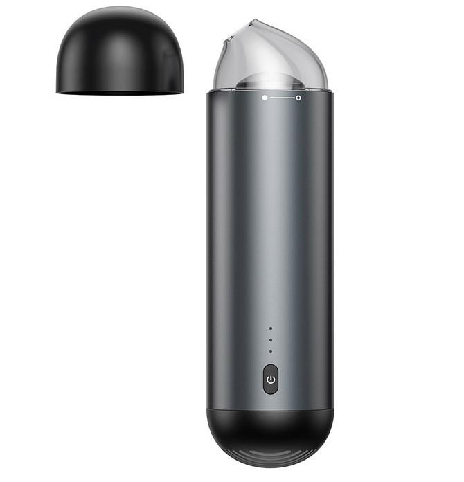 Пылесос автомобильный BASEUS Capsule Cordless Vacuum Cleaner, черный