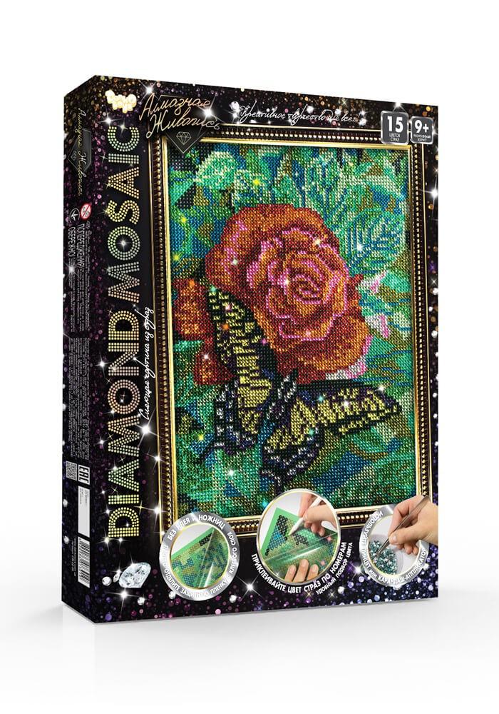 DIAMOND MOSAIC | Алмазная мозаика Роза 200*300 мм