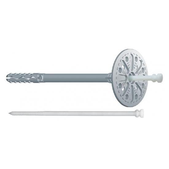 Дюбель Wkret-met LTX з пластиковим цвяхом і короткою базою розпірною