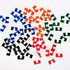 Держатели для Палочек Разноцветные Пластиковые (Зажимы)  (100 шт/уп.), фото 2