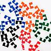 Держатели для Палочек Разноцветные Пластиковые (Зажимы)  (100 шт/уп.), фото 4