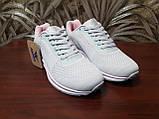 Кросівки жіночі сірі сітка, фото 5
