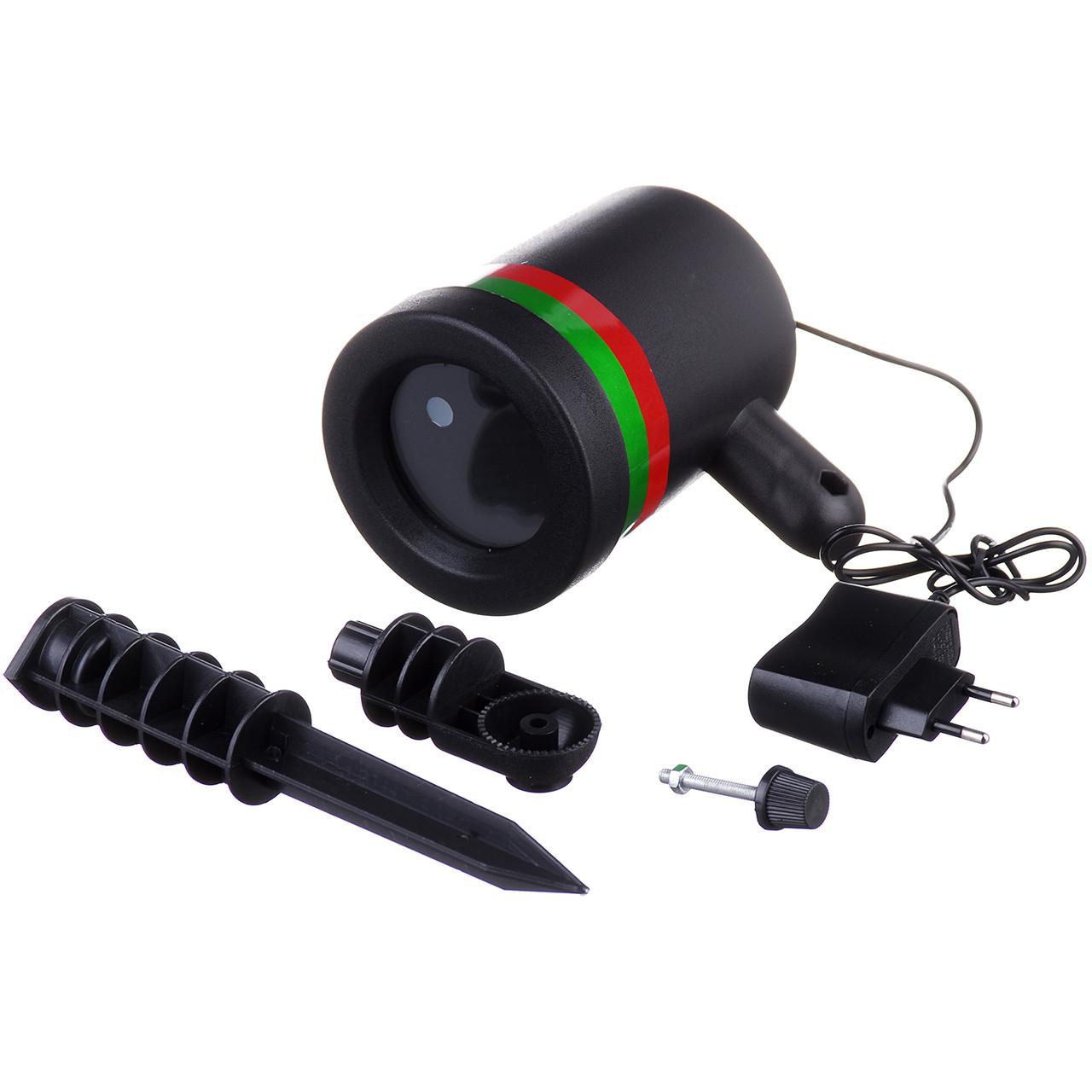 Вуличний лазерний проектор лазерна установка Star shower Laser Light 200 SL