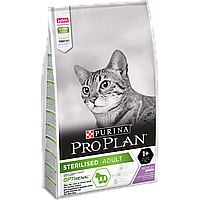 Сухой корм для стерилизованных кошек и котов Purina Pro Plan Sterilised Cat Turkey со вкусом индейки 10 кг