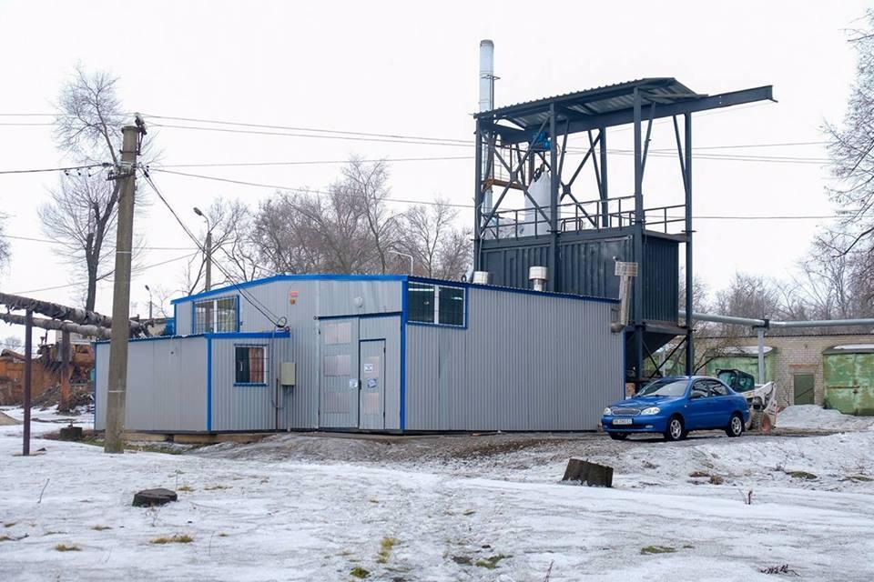 Модульная транспортабельная котельная ТКУМ-1600 (1600 квт), 2017 год. пгт. Софиевка, Днепропетровская область.