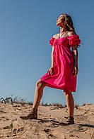 Летнее женское платье длиной мини, фото 2