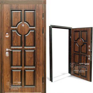 Дверь входная металлическая ABWEHR, 279 Miranda, Prestige, Kale, Дуб темный Патина, 850х2050, левая