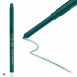 ART Контурный механический карандаш для глаз и губ № 09 Emerald Green (изумрудно-зеленый)