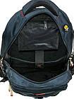 Рюкзак городской Power In Eavas 8706 с карманом для ноутбука, фото 3