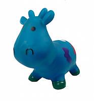 Прыгун резиновый M01360 корова Бетси (Синяя)
