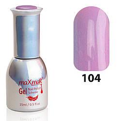 M-15 Гель-Лак № 104 (уп-12 шт) Глициния