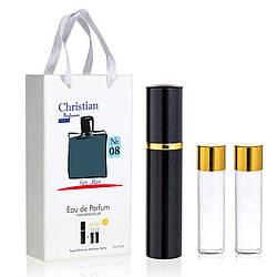 Подарочный набор парфюмерии 3x12 ml Christian for men K-155 № 008