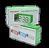 Настольные часы VST-886Y зеркало работают от батареек и USB, фото 2