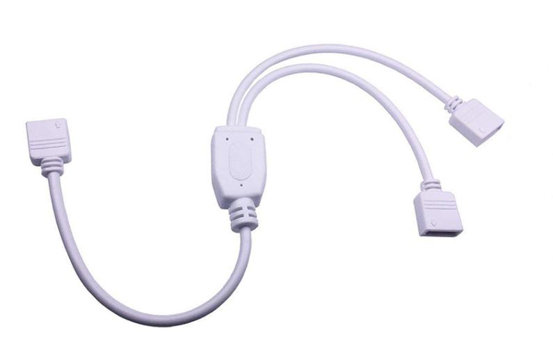 RGB коннектор разветвлитель-спліттер rgb на 2 відрізки світлодіодної стрічки