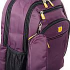 Рюкзак міський Power In Eavas 5143 violet з кишенею для ноутбука, фото 2