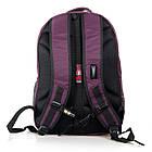 Рюкзак міський Power In Eavas 5143 violet з кишенею для ноутбука, фото 3