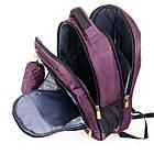Рюкзак міський Power In Eavas 5143 violet з кишенею для ноутбука, фото 4