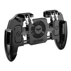 Беспроводной геймпад триггер для смартфонов Union PUBG Mobile M 11 с вентилятором и аккумулятором, КОД: 1255576