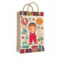Детский подарочный пакет с ручками 40.5 х 24.8 x 9 см Кинда арт.11-03-1355