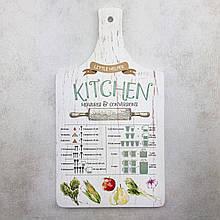 "Кухонная доска из дерева 18,5х33см""Little helper"" ,""Kitchen"""