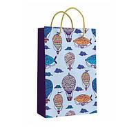 Детский подарочный пакет с ручками 40.5 х 24.8 x 9 см Кинда арт.11-03-1431