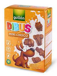 Gullon Dibus Mini Choco Печенье шоколадное без лактозы и молочных белков, яиц и орехов