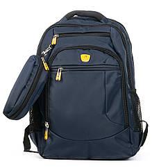 Рюкзак городской Power In Eavas 5143 blue с карманом для ноутбука
