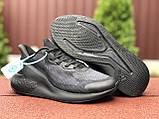 Мужские летние кроссовки Adidas Alphaboost,черные, фото 4