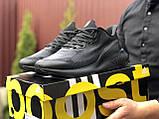 Мужские летние кроссовки Adidas Alphaboost,черные, фото 5