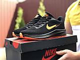 Кроссовки Nike Flyknit Lunar 3,черные с оранжевым, фото 4