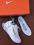 Мужские летние кроссовки Nike Joyride Run Flyknit,белые, фото 6