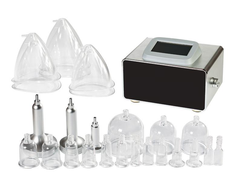 Аппарат для вакуумного массажа лица/тела, вакуумные + роликовые насадки в комплекте мод. 2175