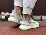 Модные кроссовки Adidas x Yeezy Boost,ментоловые, фото 3