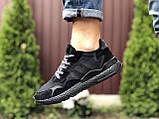 Мужские кроссовки Adidas Nite Jogger Boost 3M,черные, фото 2