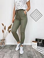 Женские стильные штаны с манжетами, фото 1
