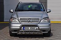 Защита переднего бампера (кенгурятник, бугель, дуга) Mercedes ML163