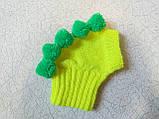 Одежда для собаки вязанная шапка для собаки Динозавр, фото 8