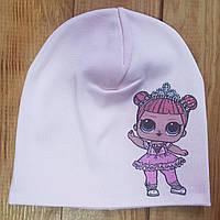 """Шапочка для девочки """"Лола"""", цвет: светло-розовый"""