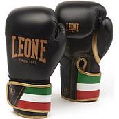 Боксерские перчатки Leone Italy Black 10 ун.