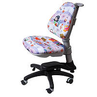 Детское компьютерное кресло-трансформер Goodwin ROYCE KINDER KY318 happy girl для девочек от 3-х лет
