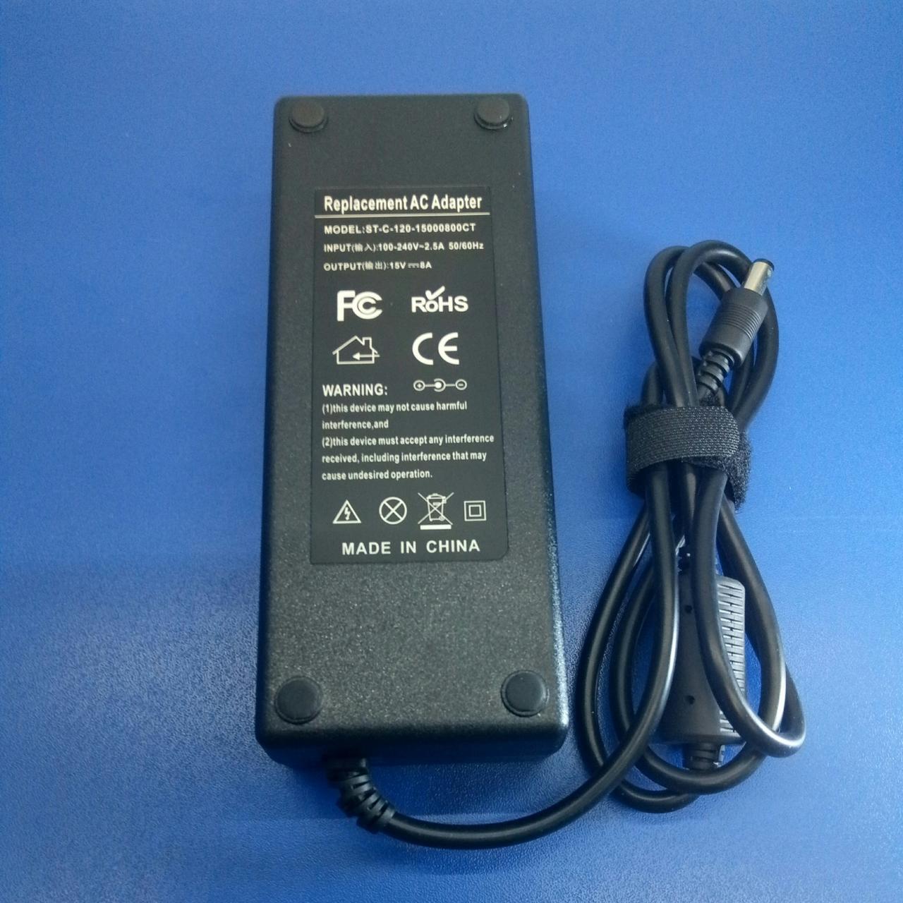 Зарядний пристрій Toshiba 15V8A 6,3*3,0 (Toshiba) {o0o}120W