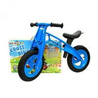 """Беговел """"Cross Bike"""" 12"""" (синий) Kinderway KW-11-016 СИН ( TC103210)"""