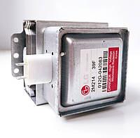 Магнетрон микроволновой печи LG 2M214 (39F) подключение 180° (80х80) код товара: 7512, фото 1