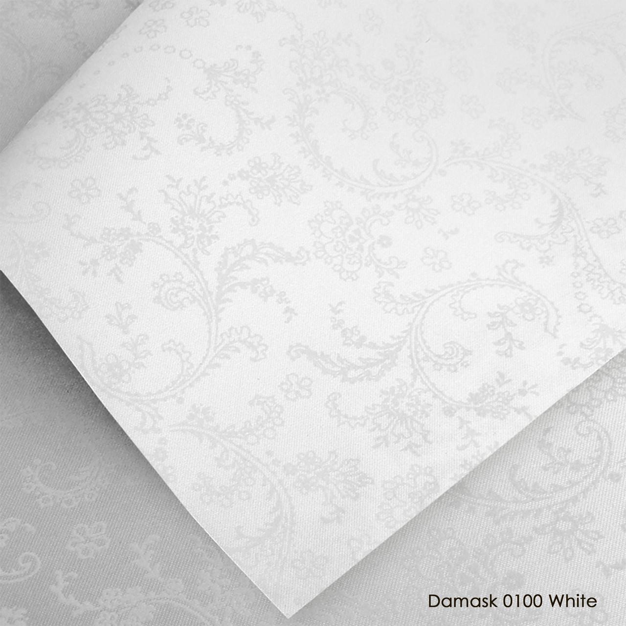Тканинні ролети Damask White