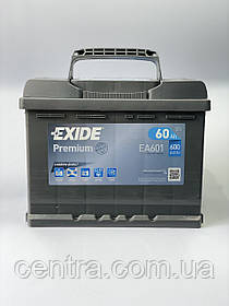 Автомобильный аккумулятор EXIDE PREMIUM EA601 60Ah L+