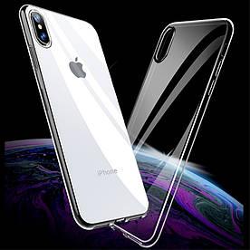 Чохол накладка для iPhone X силіконовий ультратонкий, Air Case Прозорий